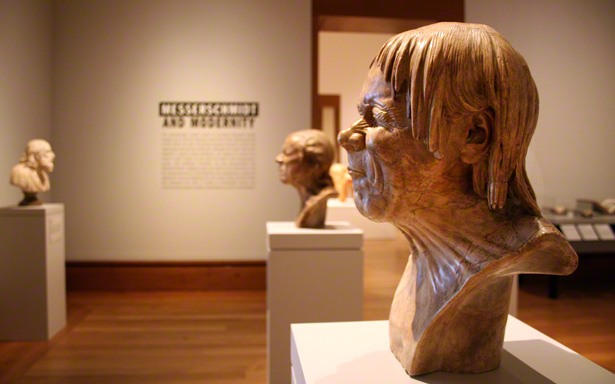 Just Rescued from Drowning / Franz Xaver Messerschmidt in the galleries of Messerschmidt and Modernity at the Getty Center