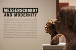 Alabaster busts by Franz Xaver Messerschmidt in Messerschmidt and Modernity at the Getty Center