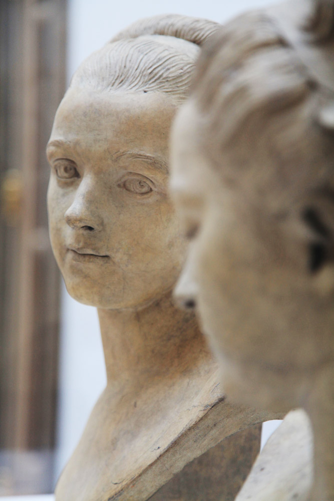 Ideal Female Heads (detail)