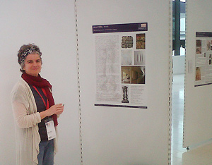 Art historian Elena O'Neill at the 2012 CIHA Congress