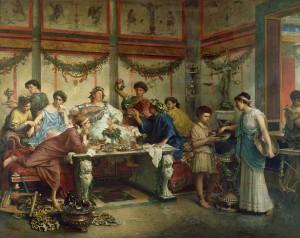 A Roman Feast / Roberto Bompiani