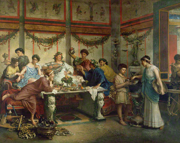 A Roman Feast / Roberto Bompiani