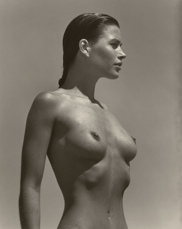 Carré in Profile, Paradise Cove / Herb Ritts
