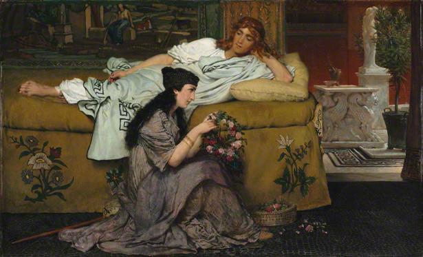 Glaucus and Nydia / Alma-Tadema