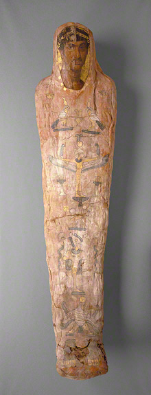 Mummy of Herakleides / Romano-Egyptian