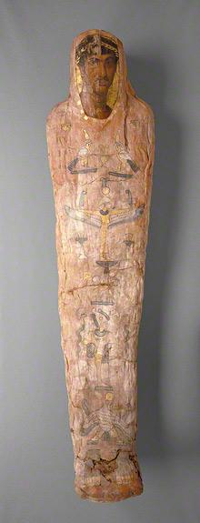 Mummy of Herakleides / Romano-Egyptian
