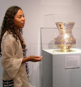 Jennifer Reid at LACMA in 2012