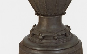 Vase - detail of cast-bronze snails / Jean-Desire Ringel dIllzach