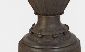 Vase - detail of cast-bronze snails / Jean-Desire Ringel d'Illzach
