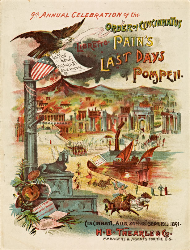 Pain's Last Days of Pompeii / The Thompson Company, Cincinnati