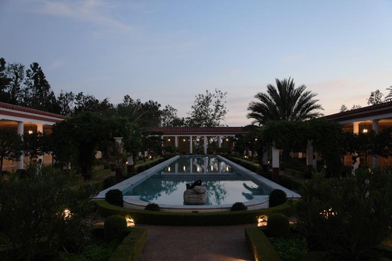 Villa dusk