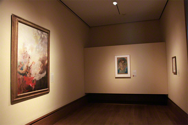 Gallery W104 in the Getty Center's West Pavilion / August 2012