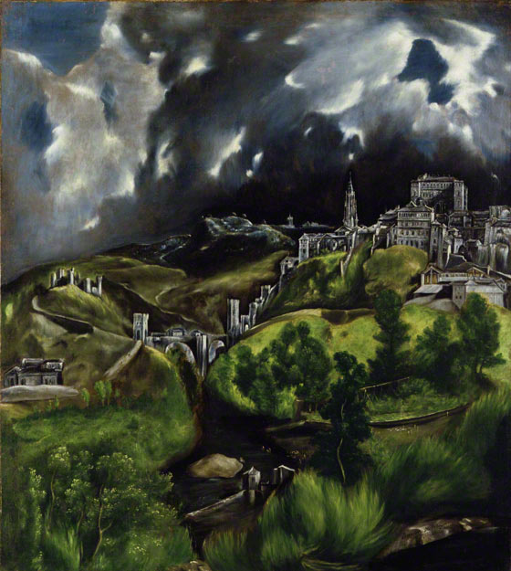 View of Toledo / El Greco