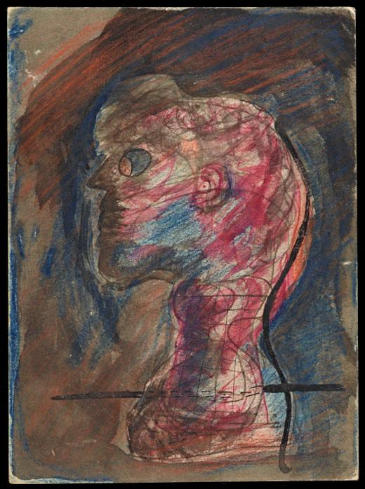Profile of Head / Cesar Moro