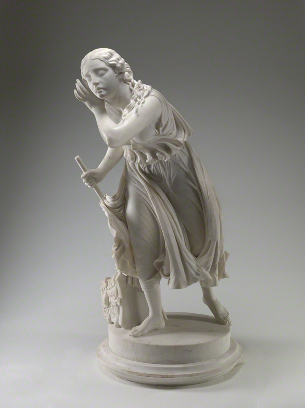 Nydia, the Blind Girl of Pompeii / Randolph Rogers