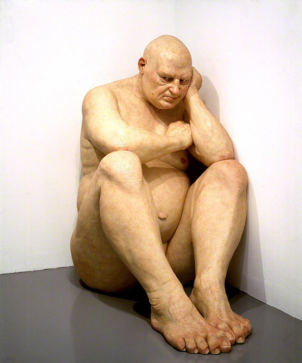 Untitled (Big Man) / Ron Mueck