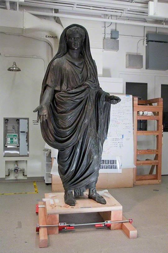 Statue of Tiberius / Roman