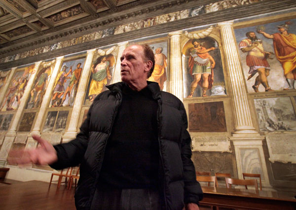 Peter Weller in Padua