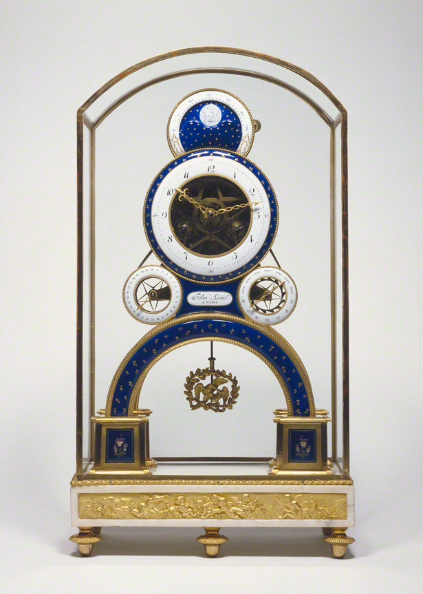 Mantel Clock / Nicolas-Alexandre Folin and Georges-Adrien Merlet