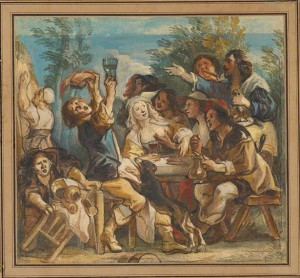 A Merry Company / Jacob Jordaens