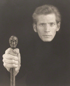 Self-Portrait / Robert Mapplethorpe