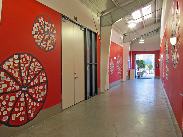 Olga Koumoundouros's Wall Works installation CART