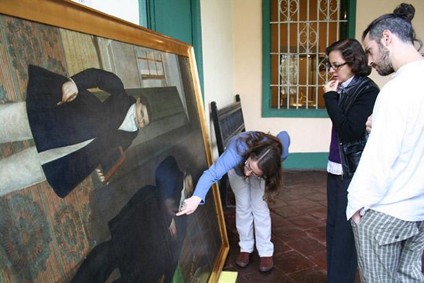 Gil de Castro project team members Carolina Ossa, Natalia Majluf, and Federico Eisner
