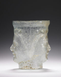 Janus-head flask / Roman