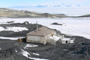 Ernest Shackleton&#039;s 1908 Nimrod expedition base, Cape Royds
