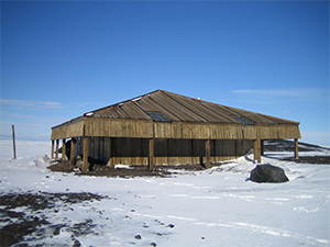 Captain Scott's 1902 Discovery expedition base, Hut Point