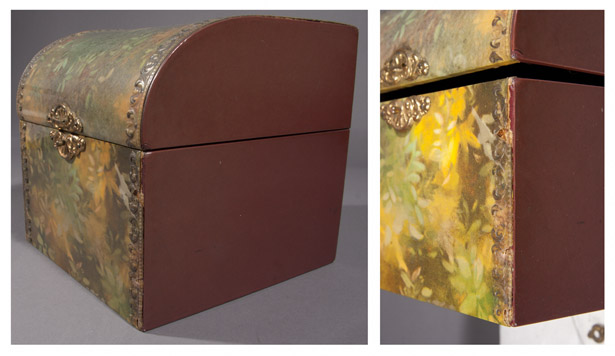 Mapplethorpe's untitled box after conservation treatment