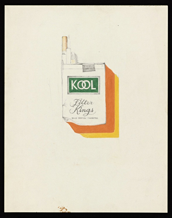 Untitled (Kool Cigarettes) / Robert Mapplethorpe