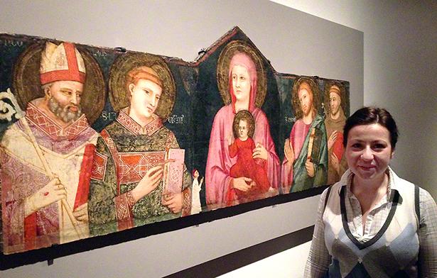 Aleksandra Hola with Madonna and Child with Saints / Pacino