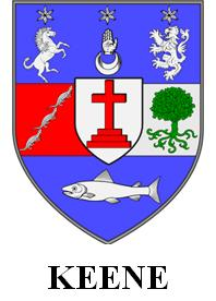 Keene family coat of arms