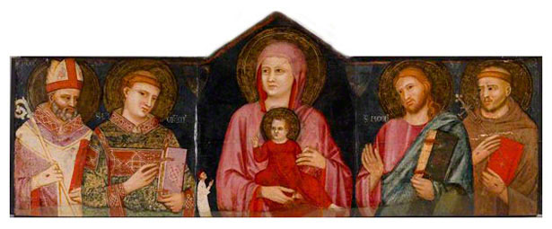 Madonna with Child and Saints / Pacino