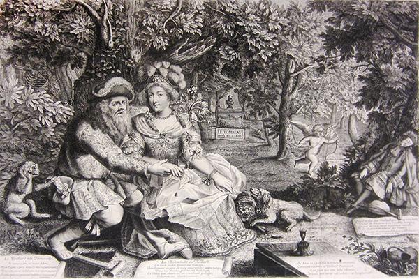 The Exchange of Arrows Between Death and Cupid / Pierre Landry