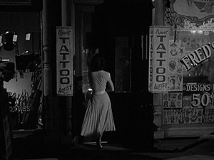 Still from Pickup on South Street, 1953