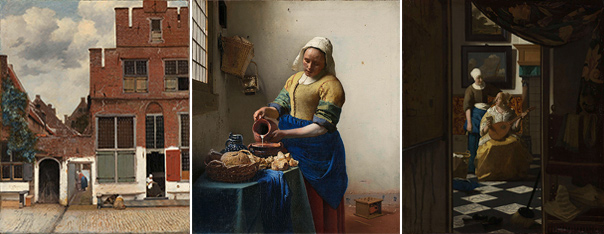 Vermeer paintings at the Rijksmuseum
