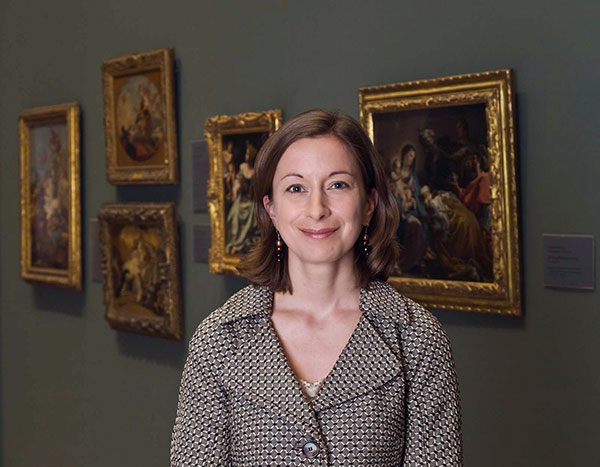 Provenance curator Victoria Reed at the Museum of Fine Arts, Boston
