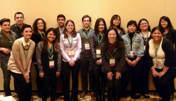 Alumni of the Getty Foundation's Multicultural Undergraduate Internship Program