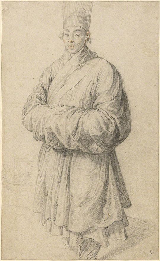 Man in Korean Costume / Rubens