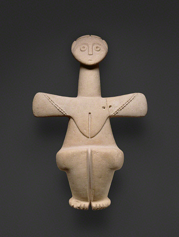 Fertility Goddess, made on Cyprus