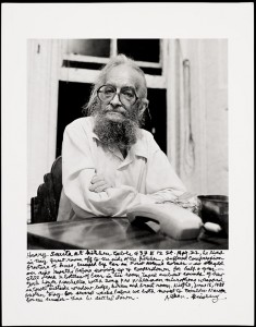 Harry Smith at Allen Ginsberg&#039;s Kitchen Table, New York City, 16 June 1988 / Allen Ginsberg