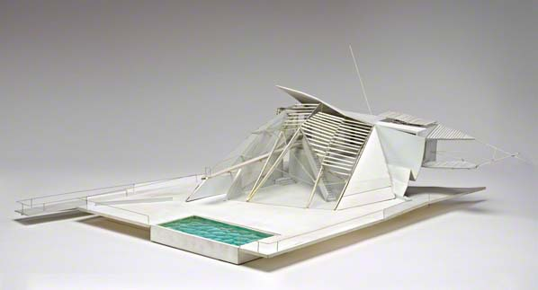 Final model for Open House by Himmelb(l)au