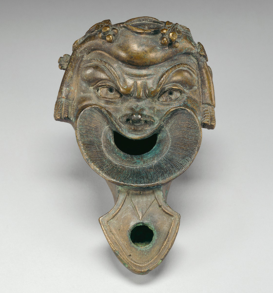 Lamp in the Shape of a Comic Mask / Roman
