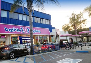 Burbank Baskin-Robbins ice cream store
