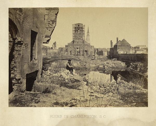 Ruins in Charleston, South Carolina / George N. Barnard