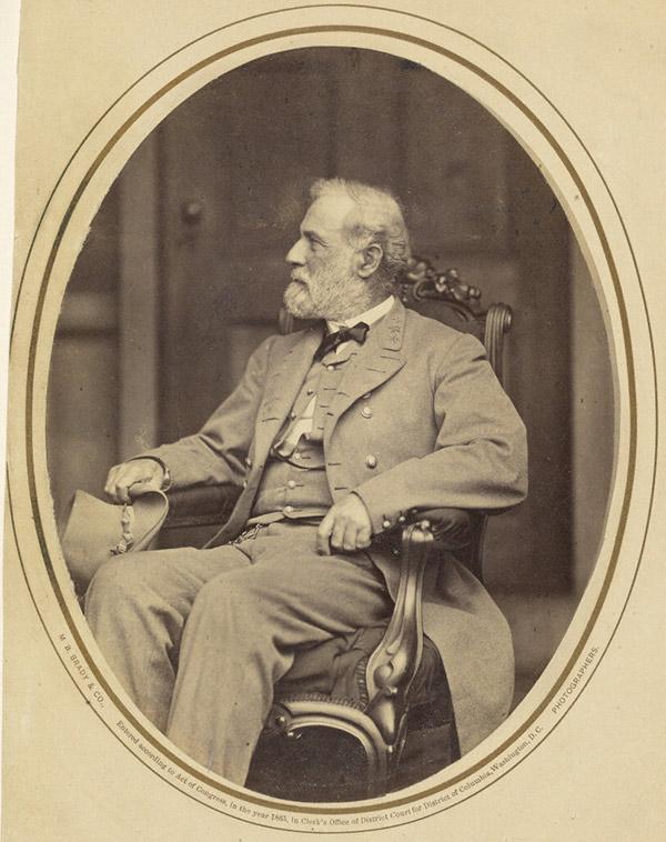 Robert E. Lee / Matthew B. Brady