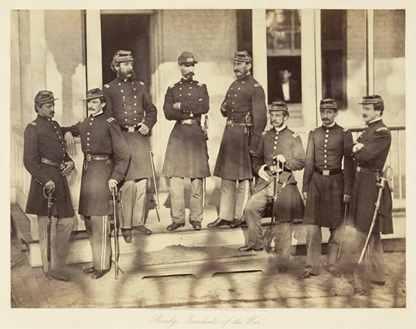 Officers, 71st Regiment, New York Infantry / Mathew B. Brady