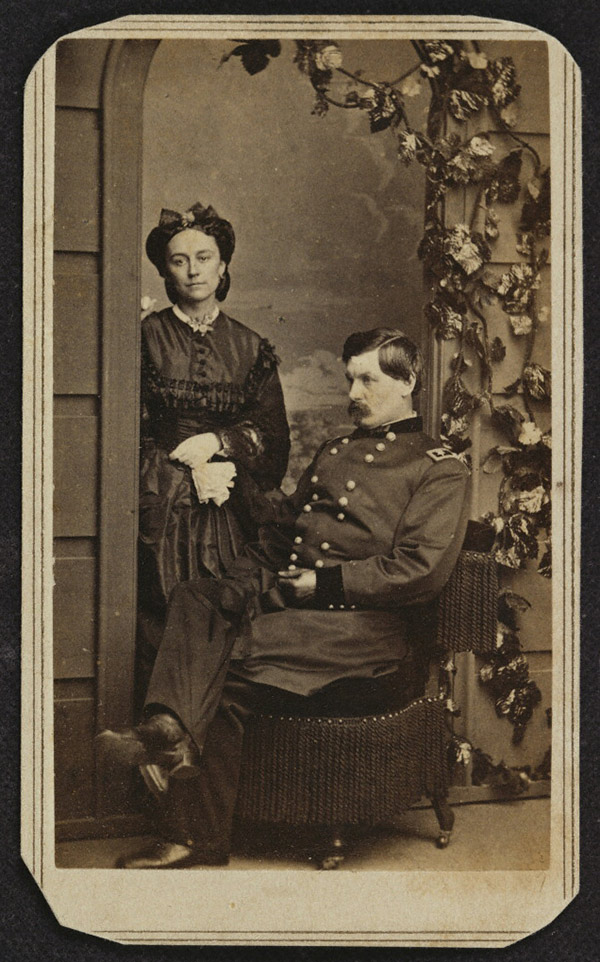 General George Brinton McClellan and His Wife / Charles DeForest Fredricks